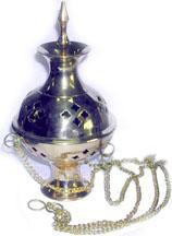Frankincense Burner with hanging chain