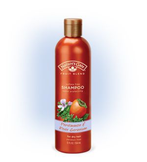 Persimmon and Rose Geranium Color Protecting Shampoo