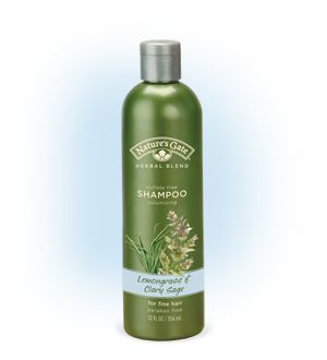 Lemongrass and Clary Sage Volumizing Shampoo