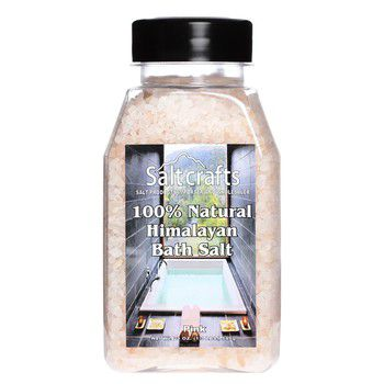 Himalayan pink bath salt course-21oz