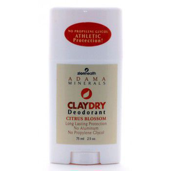 Adama Clay Dry Citrus Blossom - Natural deodorant and odor neutralizer
