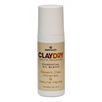 Adama Clay Dry Roll-On – Natural deodorant and odor neutralizer