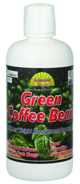 Dynamic Health Green Coffee Beans Extract Juice Blend