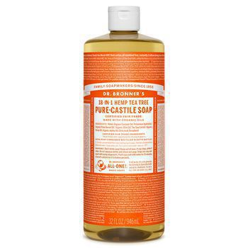 Dr Bronner's Tea Tree Pure-Castile Liquid Soap - 32oz